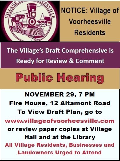 Poster for public hearing